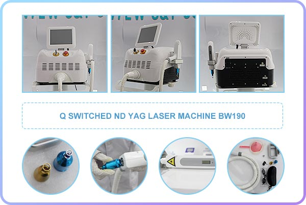 Q - Switched Nd: Yag Laser